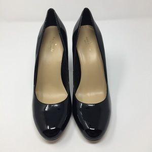 Kate Spade | Black Patten Leather Chink Heels